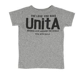 【UnitA ウニタ】テンジク UnitA TEE (110-130)【404】【DENIM DUNGAREE デニムダンガリー】