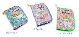 【fafa/フェフェ 母子手帳ケース/S】Babette (Diary Case)【サイズS】/ピンクフラワー/母子手帳ケースや通帳、カード入れとして人気のダイアリーケース