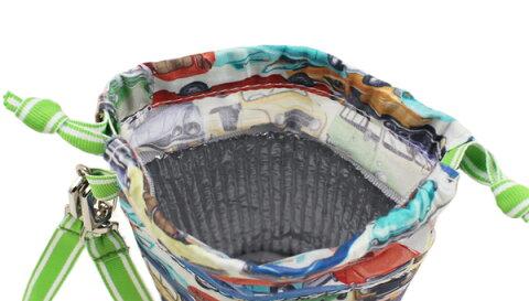 【fafa/フェフェ/ペットボトルケース】CAPUCINE(PetbottleCase)/カー/保温・保冷が可能な内側アルミシート/ストラップ付き