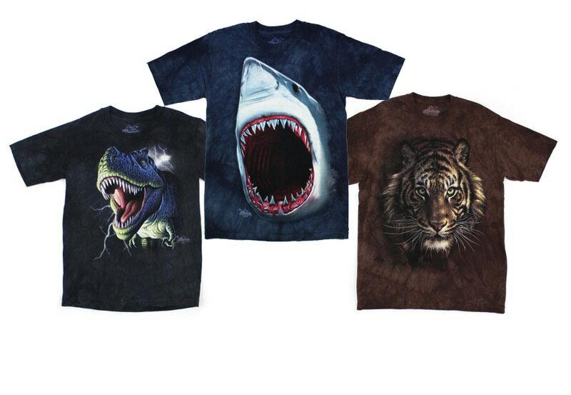 【THE MOUNTAIN(ザ・マウンテン)】KIDS TEEREX/SHARK/TIGER(130-150)