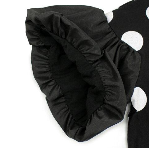 【ユニカUNICA】ドットバルーン袖Tシャツ(130-140)