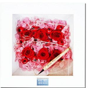 赤ちゃん筆(胎毛筆)【fairy flower お花のフレーム(pink)】毛先の残った〔胎毛〕で作られた筆です【楽ギフ_名入れ】【楽ギフ_メッセ入力】【楽ギフ_のし】【楽ギフ_包装】