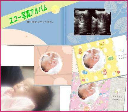 【メール便配達商品送料無料】エコー写真アルバム 10ツキ10カものがたり