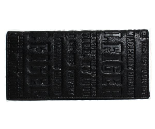 【送料無料】TOMMY HILFIGER トミーヒルフィガー メンズ カーフレザー 長財布 ブラック 31TL19X018【楽ギフ_包装】