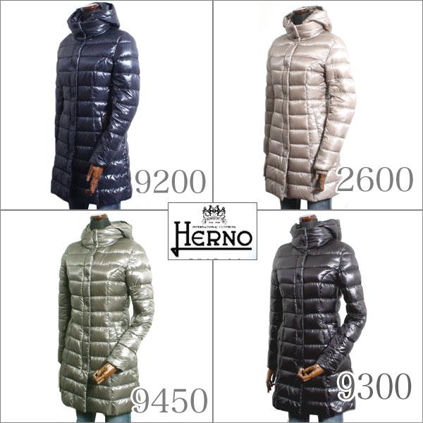 【5色より選択】HERNO ヘルノ レディース ロング ダウンコート PI0045D-12017 5色より選択 9200 2600 9300 9450 2200
