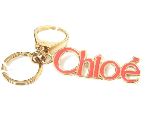【新品】CHLOE クロエ キーリング 3K0182-AJ1-42Y ゴールド/パラダイスピンクPARADASE 【楽ギフ_包装】