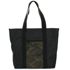 【送料無料】【新品】HYDROGEN ハイドロゲン GUMMY SHOPPING BAG グミーショッピングバッグ EG0010 007 BLACK ブラック カモフラージュ トートバッグ レディース/メンズ/ユニセックス