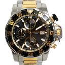 HUNTING WORLD ハンティングワールド 腕時計 クロノグラフ HW922GD メンズ シルバー/ゴールド/ブラック文字盤 クォーツ