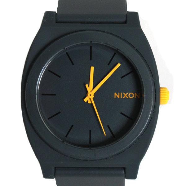 NIXON ニクソン TIME TELLER P タイムテラー 腕時計 A119-1244 MATTE STEEL GRAY/マットグレイ【楽ギフ_包装】
