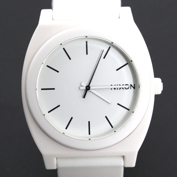 NIXON ニクソン TIME TELLER P タイムテラー 腕時計 A119-1030 MATTE WHITE/マットホワイト【楽ギフ_包装】