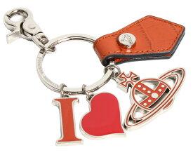 【送料無料】Vivienne Westwood ヴィヴィアンウエストウッド GADGET I LOVE ORB チャーム キーリング キーホルダー オーブ 82030009 00377 F401 ORANGE オレンジ【楽ギフ_包装】