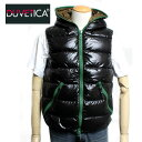 【送料無料】DUVETICA デュベティカ メンズ フード付き ダウンベスト ARISTEO アリステオ 142-U.2261.00-1035R 999 NE…