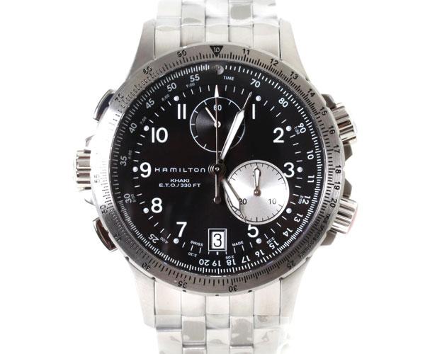 【送料無料】HAMILTON ハミルトン 腕時計 Khaki ETO カーキ E.T.O H77612133 クオーツ メンズ 時計 【楽ギフ_包装】