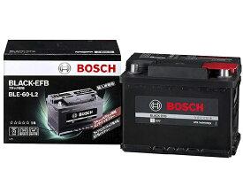 BLE-60-L2 輸入車用 アイドリングストップ対応 バッテリー BLACK-EFB BOSCH