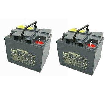 【送料無料】HC38-12 (2個セット) 日立(新神戸) 小型制御弁式鉛蓄電池(サイクルバッテリー)適応 : スズキセニアカー