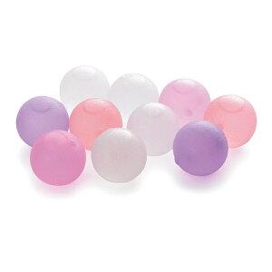 【メール便送料無料】クリスタルアイスボール 10個パック ピンク BS550CP 4521574008736 溶けない氷 保冷剤 RJ
