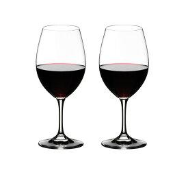 【送料無料 正規品】リーデル RIEDEL オヴァチュア レッドワイン 350ml ワイングラス 2脚箱入 610cc  6408/00