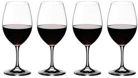 【送料無料 正規品 4脚セット】リーデル RIEDEL オヴァチュア レッドワイン 350ml ワイングラス 箱入4脚610cc  6408/00 RJ