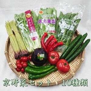 【京野菜セット10種類】京都中央卸売市場より目利きプロが厳選直送。旬の京野菜を食卓へ 京野菜 新鮮 京都 父の日
