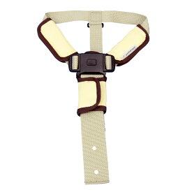 ベビーチェア用 セーフティチェアベルト カバークッション付き 立ち上がり防止 長さ調節可能 転落防止 転倒防止 大和屋 yamatoya 赤ちゃん ベビー キッズ チェア用 キッズチェア用 ベビーチェアー用 チェア