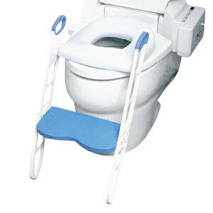 【割引クーポン配布中】【乗せるだけ簡単設置/両サイド持ち手付き】トイレ補助器 踏み台 MOMMY'S HELPER(マミーズヘルパー) ふかふかトイレトレーナー 便座 補助便座 キッズ用 子供 子供用