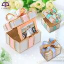 <メモリアルプレゼントボックス ジュエリーボックス>大人気プレゼントボックスにフォトフレームが付きました!写真立て 小物入れ アクセサリーケース 誕生日プレゼン...