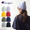 ◆チャンピオン Champion CHAMPION 帽子 ロゴ刺繍 ニット帽 /492-0048 knit CAP ニットキャップ ニットワッチ ワッチ…