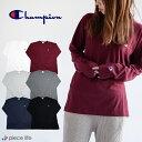 【メール便で送料無料】チャンピオン Champion C3-P401 CHAMPION BASIC オールラウンド・スポーツ/メンズ/ロコンド/ メンズ 長袖Tシャツ LONG SLEEVE T-SHIRT ロンT コットン100% ベーシックロンT ロング C3-J424