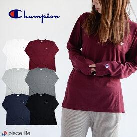 チャンピオン tシャツ champion t チャンピオン TシャツChampion C3-P401 CHAMPION BASIC オールラウンド スポーツ メンズ 長袖Tシャツ LONG SLEEVE T-SHIRT ロンT コットン100% ベーシックロンT ロング C3-J424