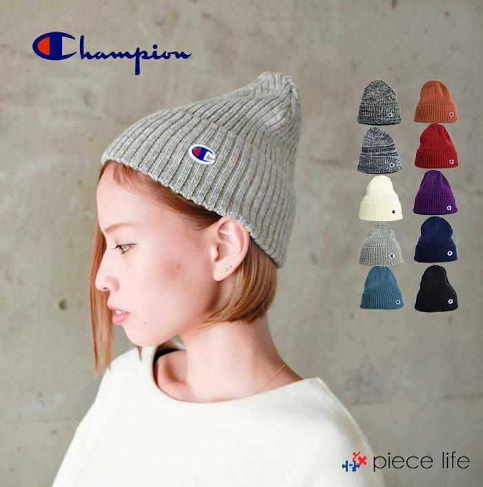 チャンピオン Champion CHAMPION 帽子 ニット帽 RIB ニットキャップ /590-002A KNITCAP KNIT リブニット ワッチ CAP レディース メンズ 男女兼用 ユニセックス ペア リンクコーデ 無地