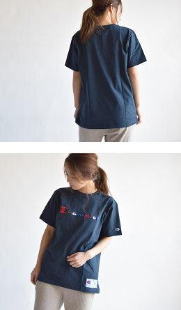 7%OFF【2枚までメール便可】チャンピオンChampionC3-H371刺繍ロゴ半袖Tシャツメンズ裾ジョグタグスポーツジムジョギングストリートアウトドアBasicシリーズTシャツtシャツメンズレディースユニセックス男女兼用トップス半袖Tシャツ半袖シャツ