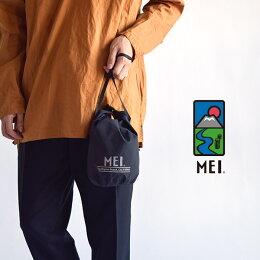 MEIエムイーアイ巾着バッグ手提げ/メンズレディース男女兼用ハンドバッグポーチeventDRAWBAGサコッシュミニバッグショルダーバッグ撥水防水軽量MEI-000-191504