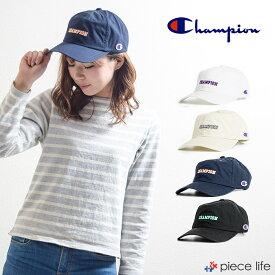 CHAMPION チャンピオン 181-0207 ロゴキャップ キャップ 帽子 メンズ レディース Champion 刺繍 ワッペンキャップ カジュアル ナチュラル