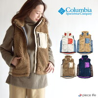 columbiaコロンビアボアベストジャケットベストColumbiaPL1046レディースArcherRidgeWomen'sBestレディースジャケットフリースベストアウター上着