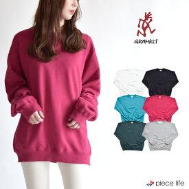 グラミチ GRAMICCI Gramicci  SWEAT SHIRTS スウェットシャツ プルオーバー トップス/ メンズ レディース 男女兼用 PO 長袖 収納 プルオーバー アウトドア 9519-FTY