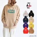 CHUMS チャムス パーカー Logo Pullover Parka ロゴプルオーバーパーカー スウェット トップス メンズ レディース ユニセックス 綿100% 裏起毛 カジュアル アウトドア スポーツ CH00-1263