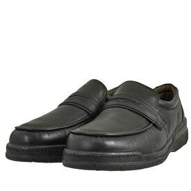 メンズ 靴 ビジネスシューズ カジュアルシューズ スリッポン ムーンスター 幅広 4E スリッポン ブラック SPH7482BLK