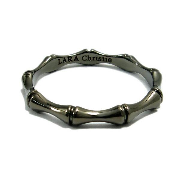 LARA Christie (ララ クリスティー) バンブー リング(指輪) BLACK Label ララクリスティ 送料無料