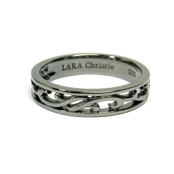 LARA Christie (ララ クリスティー) ランソー リング(指輪) BLACK Label ララクリスティ 送料無料
