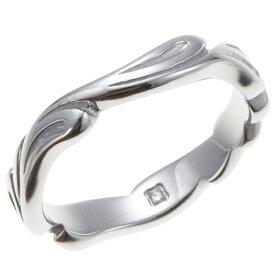 送料無料 メンズリング トライバル柄 アラベスク柄 内側に1粒天然ダイヤモンド サージカルステンレス