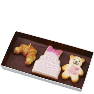 香り付きキャンドル アイシングクッキーセット スウィートな香り kameyama candle カメヤマキャンドル 3個セット プレゼント ギフト お菓子 クロワッサン ろうそく メール便 送料無料