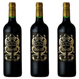 ラ・クロワ・ドゥ・ボカイユ (2013) 3本セット フランス ボルドー サン・ジュリアン 赤 ワイン 辛口