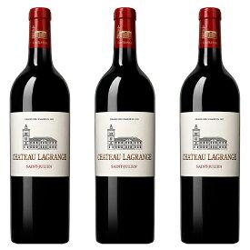 シャトー ラグランジュ (2017) 3本セット フランス ボルドー / サン・ジュリアン 赤 ワイン 辛口