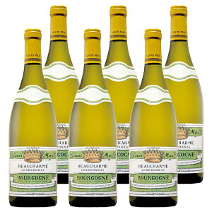 ルイ・マックス ボーシャルム シャルドネ (2018) 6本セット フランス ブルゴーニュ 白 ワイン 辛口 | ワイン プレゼント ギフト ラッピング おすすめ 人気 wine お酒 美味しい ぶどう ブドウ 高級