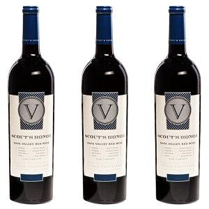 スカウツ・オーナー ナパ・ヴァレー レッド (2017) 3本セット アメリカ カリフォルニア ナパ・ヴァレー 赤 ワイン 辛口
