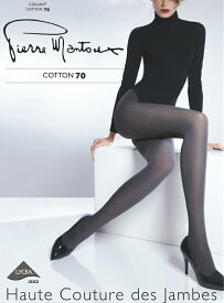 ピエールマントゥー ピエールマントゥ Pierre Mantoux 公式 正規 イタリア製 タイツ コットン 綿 天然素材 暖かい 保温性 吸湿性 通気性 ゆったり【COTTON70 コットン70】