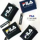FILAフィラ三つ折り財布ミニコンパクト小さいバイカラーおしゃれ合皮/メール便不可
