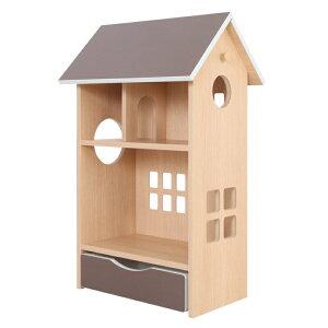 ドールハウスシェルフ 4色 収納 完成品 日本製 子供部屋 子ども部屋 キッズルーム