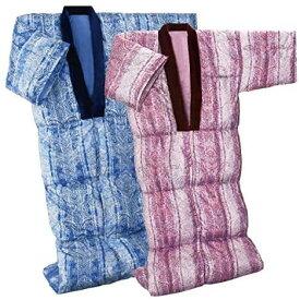 洗える 羽毛 ダウン かいまき布団 掻巻布団 ブルー