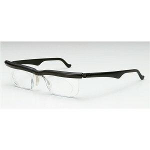 ドゥーライフワン ブラック 老眼鏡 シニアグラス 度数調節 対応度数:-4.0(近視)から +5.0(老眼・遠視)まで対応! 敬老の日 プレゼント 眼鏡 シニア 老眼 近視 遠視 めがね メガネ